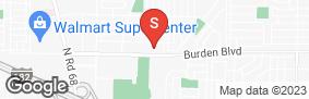 Location of Burden Park Self Storage in google street view
