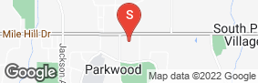 Location of Glacier West Self Storage - Port Orchard in google street view