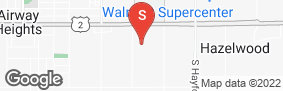 Location of Abc Mini Storage - Airway Heights in google street view