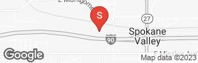 Location of Abc Mini Storage - Spokane Valley in google street view