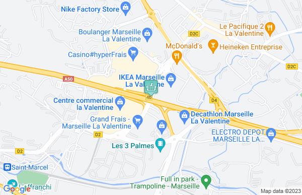 Géant Casino à Marseille 11ème arrondissement