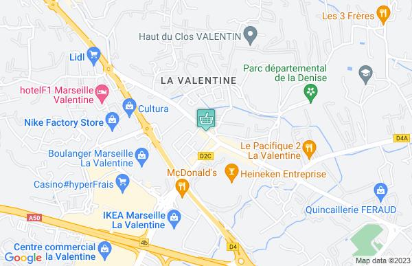 Petit Casino à Marseille 11ème arrondissement