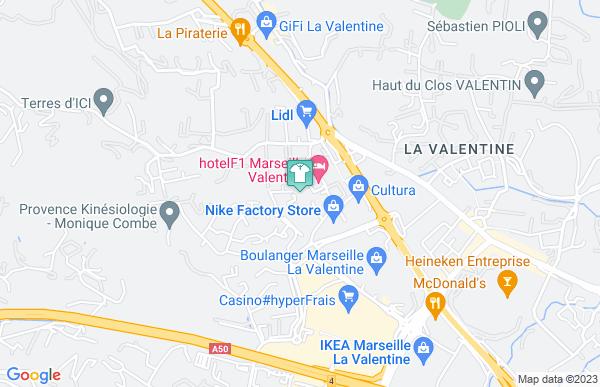 La Halle aux Chaussures à Marseille 11ème arrondissement