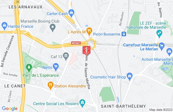 Laboratoire Seldaix à Marseille 14ème arrondissement