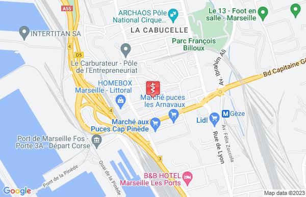 Laboratoire Seldaix à Marseille 15ème arrondissement