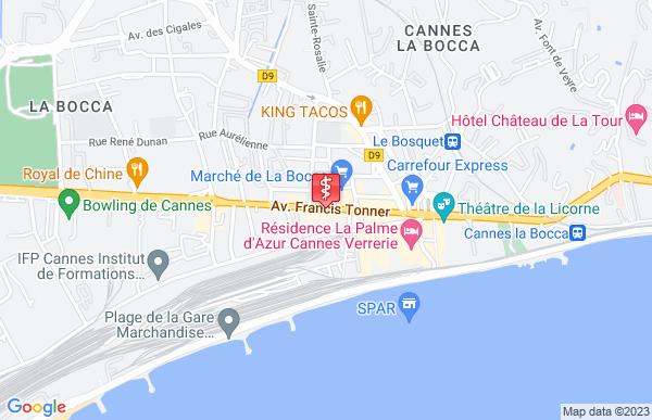 Laboratoire Synlab à Cannes