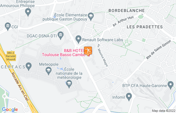 B&B Toulouse Basso Cambo à Toulouse
