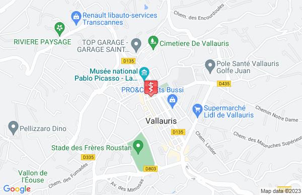 Laboratoire Synlab à Vallauris