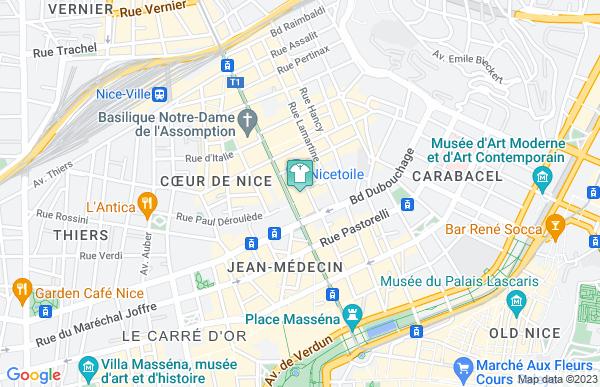 Orcanta à Nice