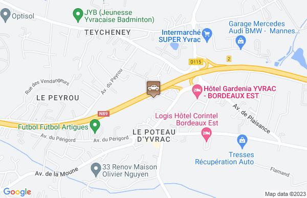 Garage Teyssier à Artigues-près-Bordeaux