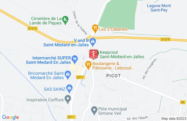 Laboratoire Synlab à Saint-Médard-en-Jalles