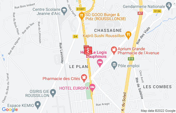 Laboratoire Synlab à Roussillon
