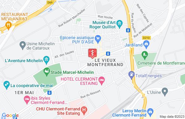 Laboratoire Bioval Laboratoires à Clermont-Ferrand
