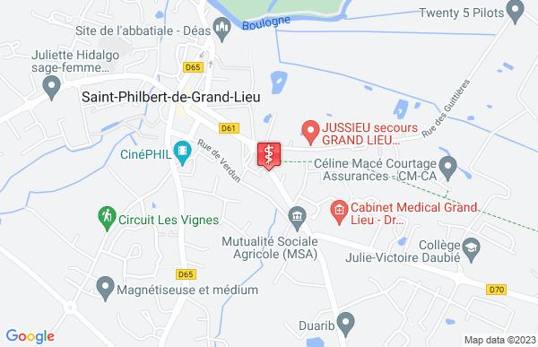 Laboratoire Bioalliance à Saint-Philbert-de-Grand-Lieu