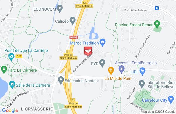 Crédit Maritime St Herblain Ctre D'aff Nantes St Nazaire à Saint-Herblain