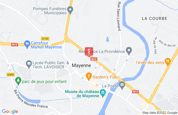 Laboratoire Synlab à Mayenne