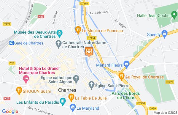 Les Trois Lys à Chartres