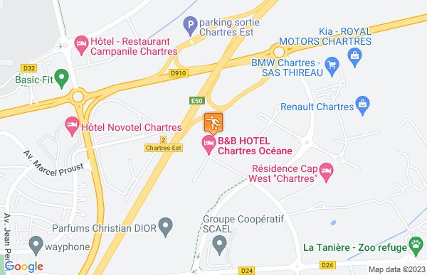B&B Hôtels à Chartres