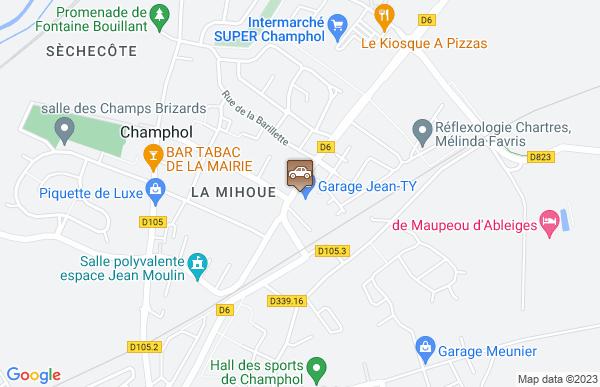 Garage Hertereau à Champhol