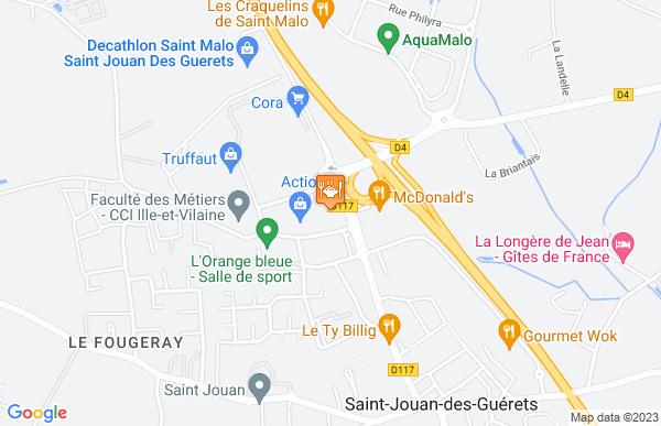 Cora Cafétéria à Saint-Jouan-des-Guérets