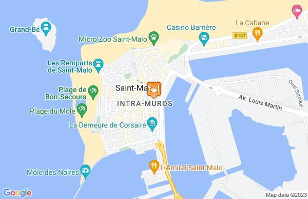Le Moulin Vert à Saint-Malo