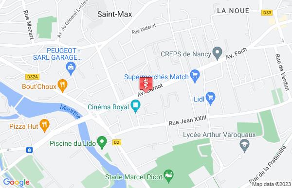 Laboratoire Synlab à Saint-Max