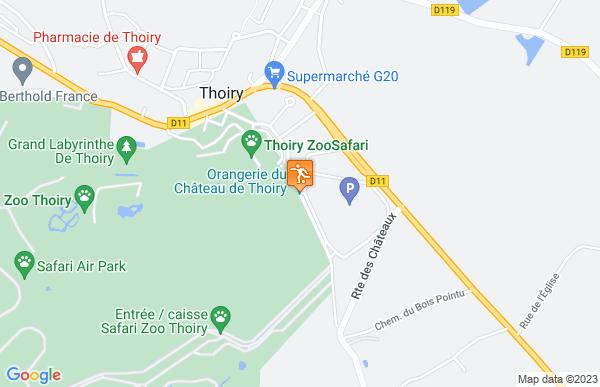 Parc zoologique de Thoiry à Thoiry