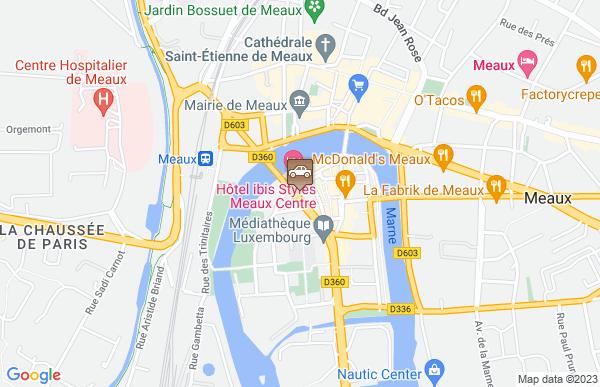 Auto-moto-école Inri's Gare De Meaux à Mareuil-lès-Meaux