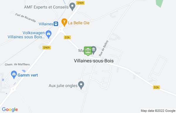 Mairie de Villaines-sous-Bois à Villaines-sous-Bois