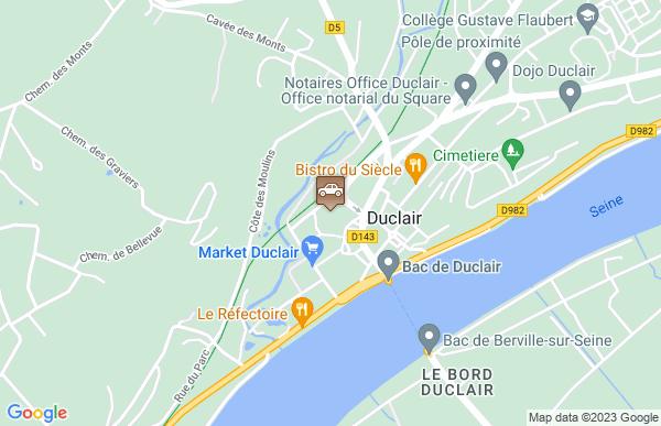 M J C De Duclair à Duclair