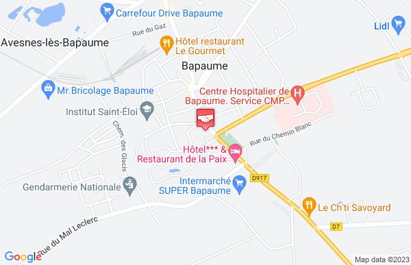 Caisse d'épargne à Avesnes-lès-Bapaume