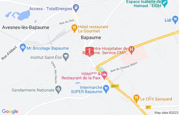 Laboratoire Synlab à Avesnes-lès-Bapaume