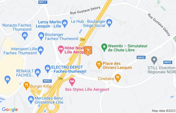 Mercure Lille Aéroport à Lesquin