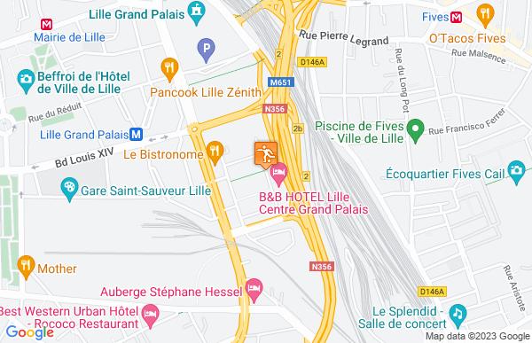 B&B Lille Centre Grand Palais à Lille