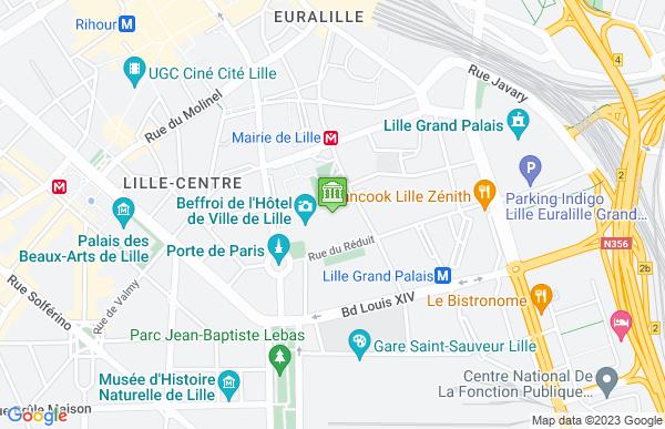 Mairie de Lille à Lille