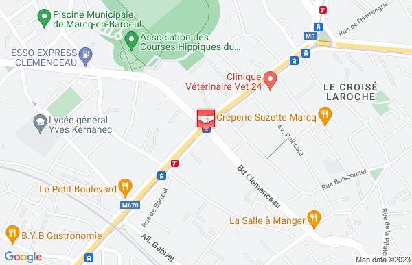Banque Populaire Marcq En Baroeul Clemenceau à Marcq-en-Baroeul