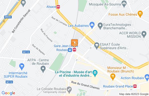 B&B Lille Roubaix Campus Gare à Roubaix