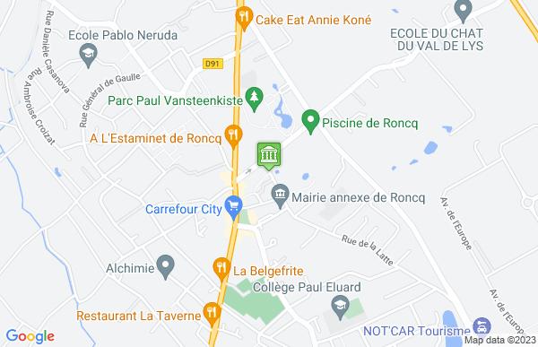 Mairie de Roncq à Roncq