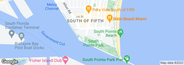 300 South Pointe Dr, Miami Beach, FL 33139