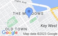 Map of Key West FL