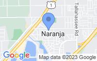 Map of Naranja FL