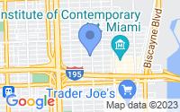 Map of Miami FL