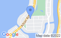 Map of Miami Beach FL