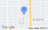 Map of Hialeah FL