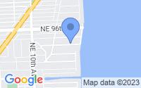 Map of Miami Shores FL