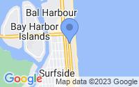 Map of Surfside FL