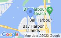 Map of Bay Harbor Islands FL