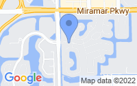 Map of Miramar FL