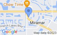 Map of Miramar FL