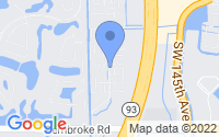Map of Pembroke Pines FL